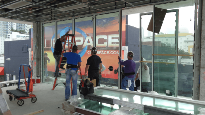 storefront impact glass in Miami